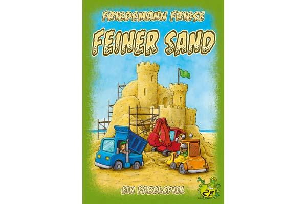 Gesellschaftsspiel Feiner Sand - Foto von 2F-Spiele