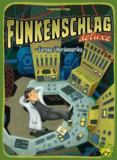 Schachtel Funkenschlag deluxe - Foto 2F Spiele