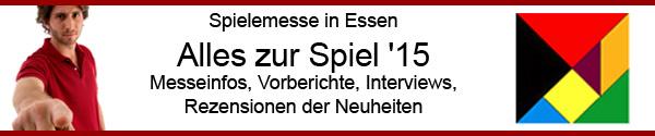 Vorberichterstattung: Spielemesse in Essen 2015