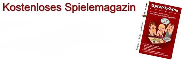 Spiel-E-Zine - das kostenlose Spielemagazin