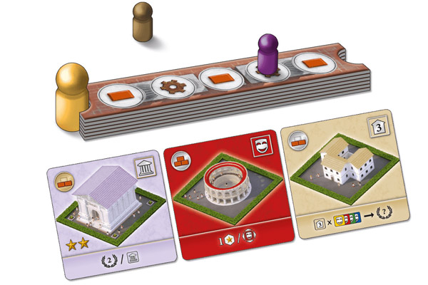 City Of Rome - Material - Foto von Abacusspiele