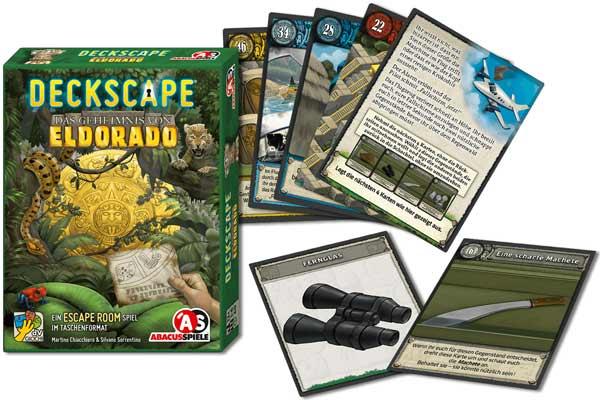Deckscape: Das Geheimnis von Eldorado - Material - Foto von Abacusspiele