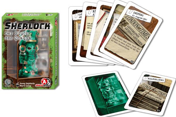 Sherlock - Der Fluch des Qhaqya - Material - Foto von Abacusspiele