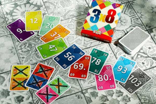 3x8 - Material - Foto von Amigo Spiele