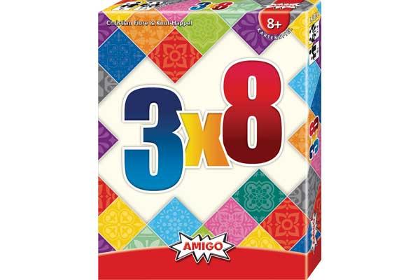Kartenspiel 3x8 - Foto von Amigo Spiele