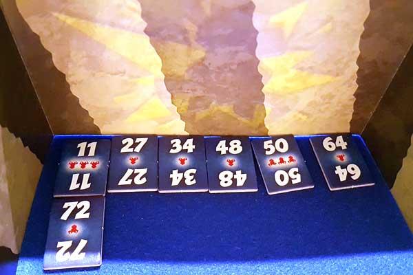 6 nimmt! - Brettspiel - Zahlenplättchen - Foto von Axel Bungart
