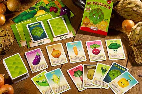Artischocken - Präsentation - Foto von Amigo Spiele
