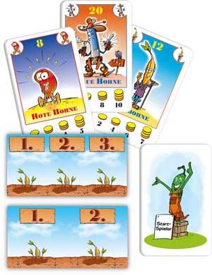 Bohnanza - Spielmaterial - Foto von Amigo Spiele