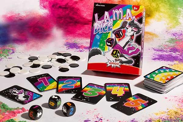 LAMA Dice - Schachtel - Foto von Amigo Spiele