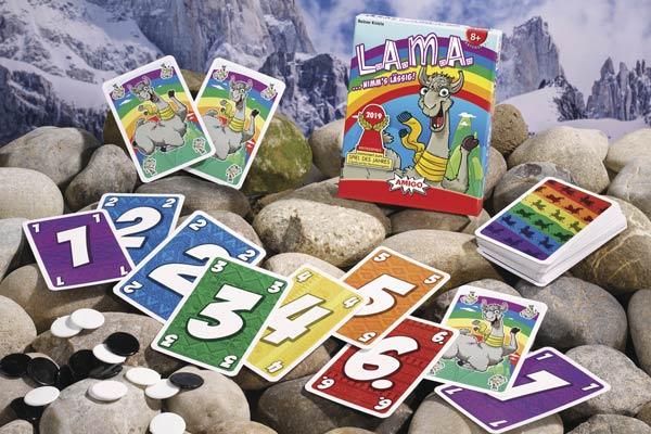 LAMA - Spielmaterial - Foto von Amigo Spiele