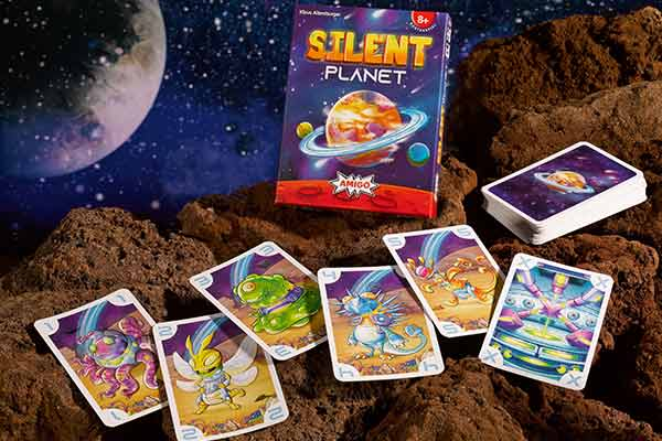 Silent Planet - Material - Foto von Amigo Spiele