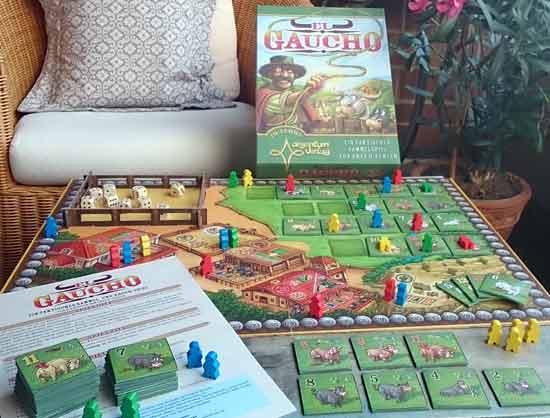 Präsentation des Prototypen des Spiels El Gaucho - Foto von Argentum