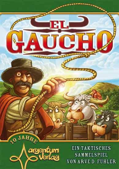 Spieleschachtel El Gaucho  - Foto von Argentum Verlag