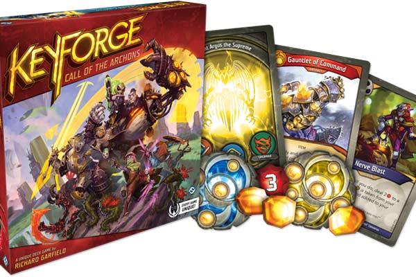 Material Keyforge: Ruf der Archonten - Foto von Fantasy Flight Games