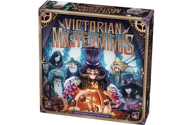 Brettspiel Victorian Masterminds - Foto von Asmodee