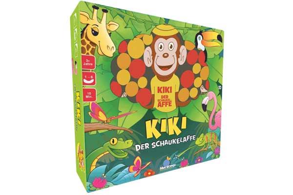 Kiki - der Schaukelaffe - Verpackung - Foto von Blue Orange