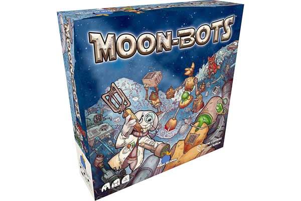 Gesellschaftsspiel Moon Bots - Foto von Blue Orange