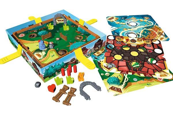 Gesellschaftsspiel Slide Quest - Material - Foto von Blue Orange