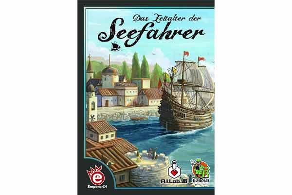 Das Zeitalter der Seefahrer - Schachtel - Foto von Kobold Spieleverlag