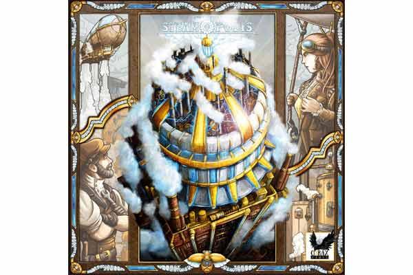 Steamopolis - Schachtelgrafik - Foto von Corax Games