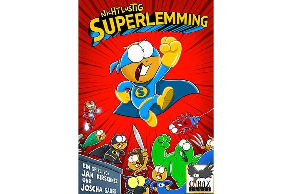 Superlemming - Schachtel - Foto von Corax Games