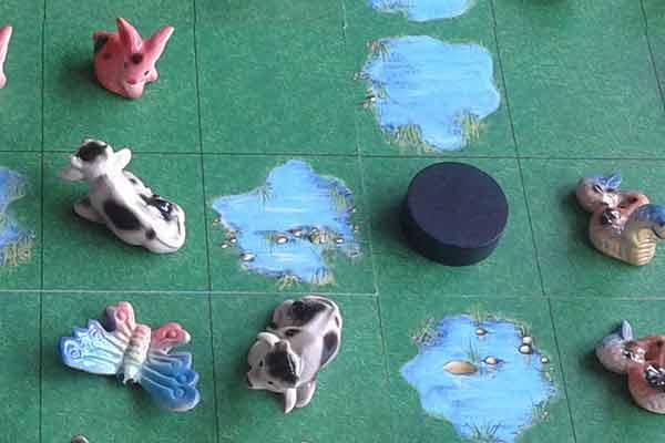 Beasty Borders - Figuren, Ausschnitt - Foto von Cwali