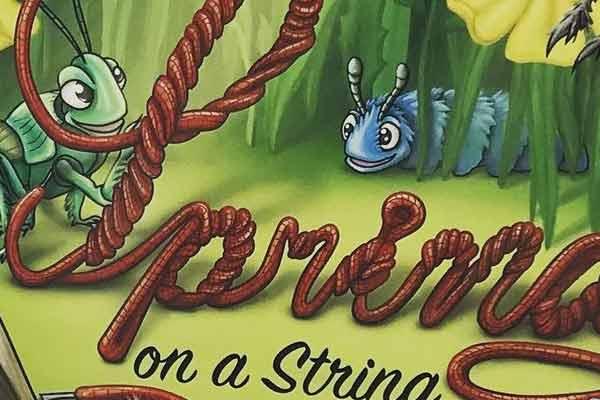 Spring On A String - Ausschnitt - Foto von Czech Board Games