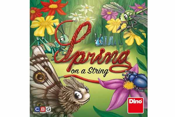 Spring On A String - Schachtel - Foto von Czech Board Games