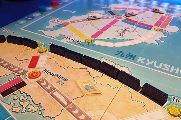 Zug um Zug: Japan & Italien - Zuglinien - Foto von Axel Bungart