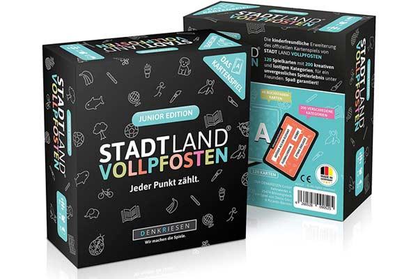 Stadt Land Vollpfosten - Junior Edition - Schachtel - Foto von Denkriesen