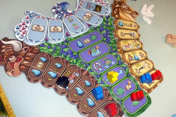 Indianer-Spielmaterial bei Manitoba - Foto von Jörn Frenzel