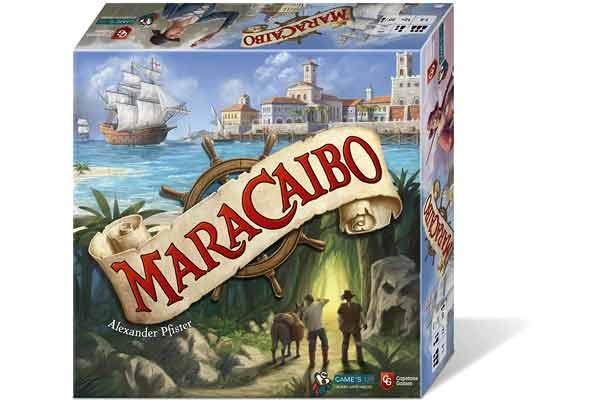 Schachtel Maracaibo - Foto von dlp Games