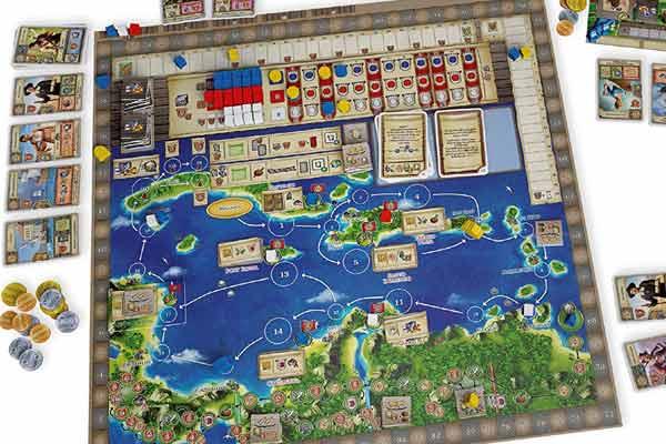Maracaibo - Spielbrett - Foto von dlp Games