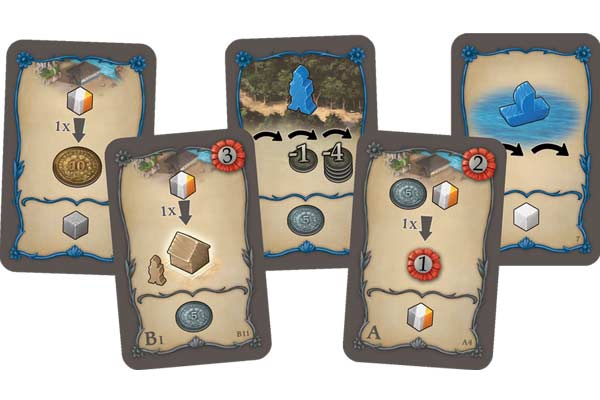 Spielkarten von Valparaiso - Foto von dlp Games