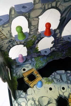 Spielaufbau Burg Flatterstein - Foto von Guido Hoffmann