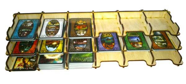 Organisierer für Spielkarten - Foto von e-Raptor