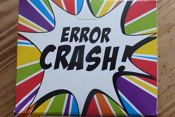 Schachtel von Error Crash - Foto von Jörn Frenzel