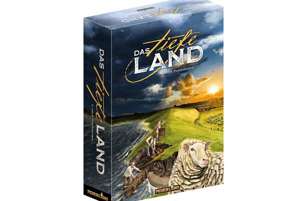 Das tiefe Land - Cover - Foto von Feuerland Spiele
