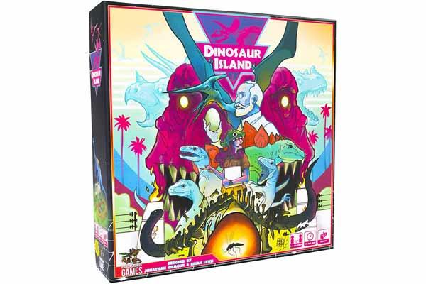 Dinosaur Island - Schachtel - Foto von Feuerland Spiele