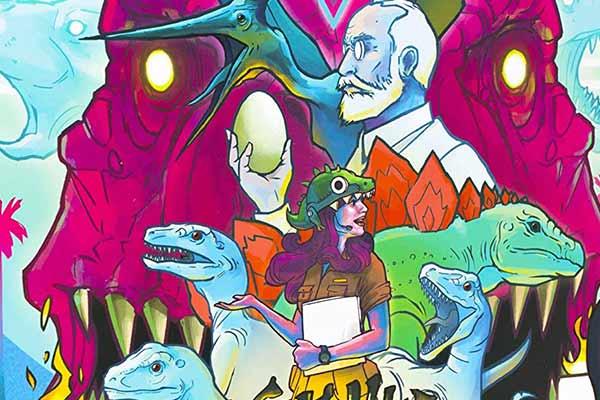 Dinosaur Island - Ausschnitt - Foto von Feuerland Spiele