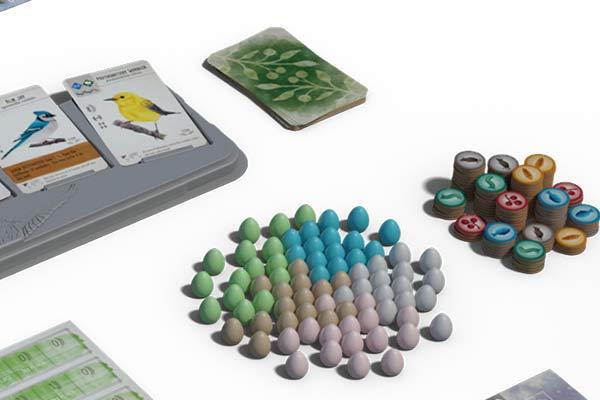 Flügelschlag - Ausschnitt Material - Foto von Feuerland Spiele