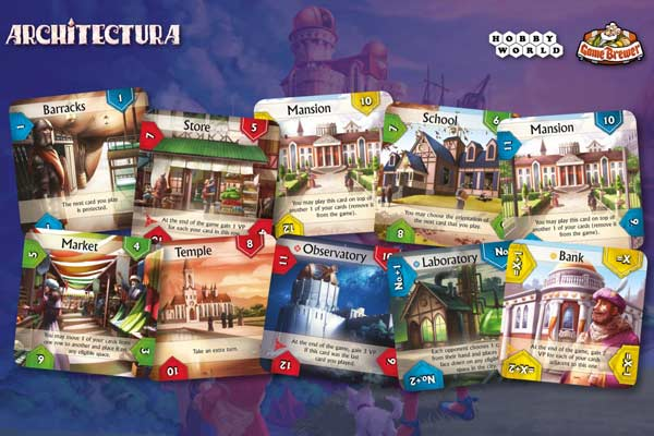 Architectura - Spielkarten - Foto von Game Brewer