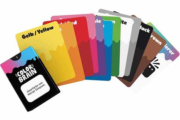 Color Brain - Karten - Foto von Game Factory