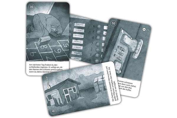 Das Pendel der Toten - Die Leopold-Trilogie 1 - Karten - Foto von Game Factory