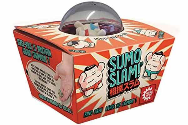 Wurfspiel Sumo Slam - Verpackung - Foto von Game Factory