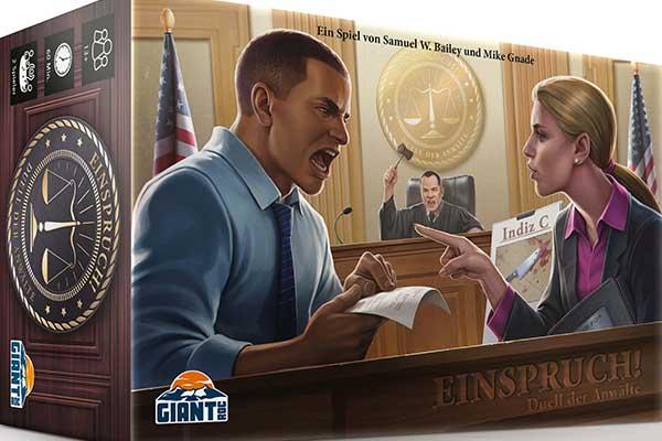 Einspruch! - Duell der Anwälte - Schachtel - Foto von Giant Roc