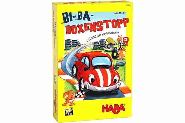 Kinderspiel Bi-Ba-Boxenstopp - Schachtel - Foto von Haba