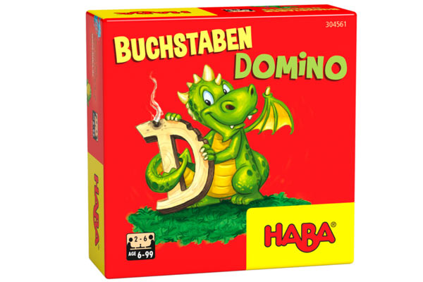 Buchstabendomino - Schachtel - Foto von Haba