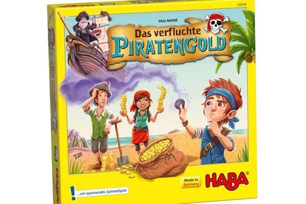 Kinderspiel Das verfluchte Piratengold - Schachtel - Foto von Haba