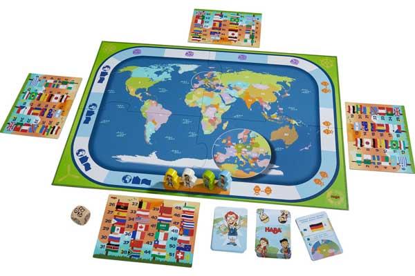 Kinderspiel Länder der Welt - Aufbau - Foto von Haba